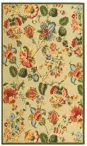 Chelsea HK331C Floral French Country Wool Hand Hooked Rug