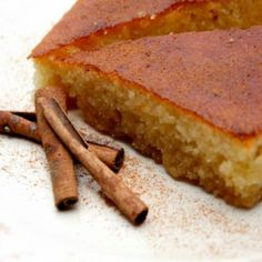 Recipe for Ravani (Semolina cake with syrup)