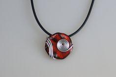 Handgefertigtes Einzelstück, Keramik, Kette im Onlineshop