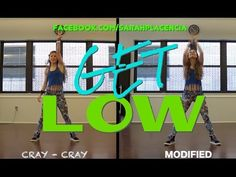 Dance Fitness with Sarah Placencia - Get Low - YouTube