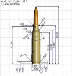 Cartridge Diagrams within AccurateShooter.com 3d Printer Designs, Gun Rooms, Object Drawing, Drawing Exercises, Military Weapons, 3d Modeling, Technical Drawing, Guns And Ammo, In Writing