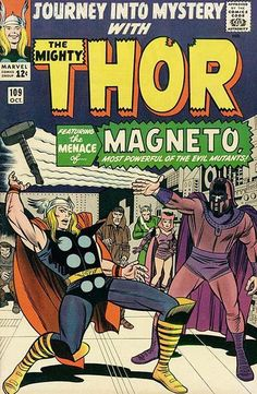 Cover for Journey into Mystery (Marvel, October 1964) #109
