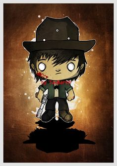 Carl Grimes TWD by ThePencilCave on DeviantArt