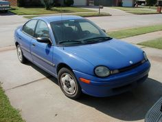 1996 Dodge Neon. When you looked at it from the front, it was smiling.