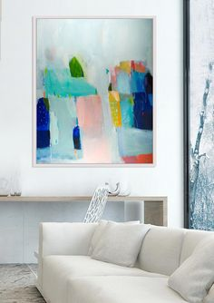 abstract art abstract painting acrylic painting canvas art