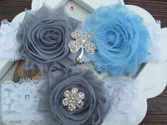 i want these two colors to be my wedding colors(: baby blue and light grey