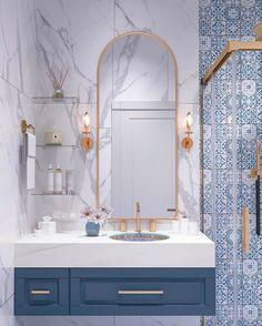 Modern Bathroom Tile Design, Trends 2020 Modern bathroom design trends offer spectacular tiles for decorating walls and floors in 2020 SEE DETAILS. Modern Bathroom Tile, Bathroom Tile Designs, Bathroom Layout, Bathroom Interior Design, Interior Decorating, Modern Bathrooms, Decorating Ideas, Farmhouse Bathrooms, Minimal Bathroom