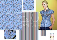 Fabric print design and application. Contact me etsy.com/nl/shop/FelixvanDriem