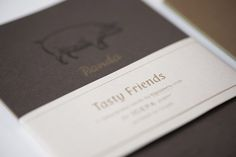 #Crush #Favini #Cards Tasty Friends @igepa www.igepa.be - #Letterpress printing: Tipozero www.tipozero.com - Sleeve risoprinted by chezrosi https://chezrosi.wordpress.com/ - Find more about #Crush http://www.favini.com/gs/en/fine-papers/crush/all-about-crush/