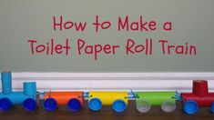 Whether your kids love trains or just love crafts, they will have a lot of fun creating this toilet paper roll train craft. This train is made out of recyclable materials, which makes it an inexpen...