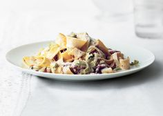 Creamy Pappardelle with Leeks and Bacon - Bon Appétit