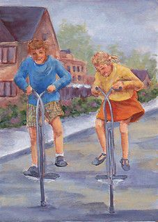 the Original Pogo Stick    More fun and memories from the 50s