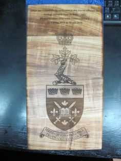 Gravure Laser, Saint Jean, Bamboo Cutting Board, Military Personnel, Woodwind Instrument