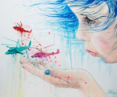 Paintings by Lora-Zombie | InspireFirst