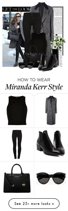 """// MIRANDA KERR //"" by rominaqux on Polyvore featuring Kerr®, LSA International, Tagliatore, J Brand, River Island, MICHAEL Michael Kors, Yves Saint Laurent, women's clothing, women's fashion and women"