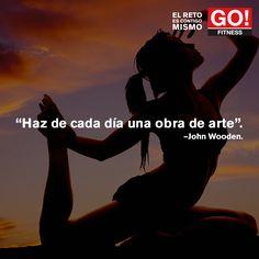 John Wooden. #gofitness #clasesgo #ejercicio #gym #fit #fuerza #flexibilidad #reto #motivate #frases #johnwooden