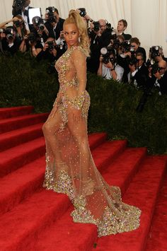 Beyonce at the 2015 Met Ball