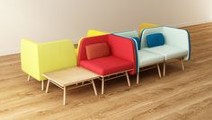 Bi Silla  2014. Design Silvia Ceñal by Two.Six, via Behance