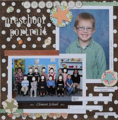 preschool portrait - Scrapbook.com