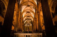 Barcelona, the cathedral