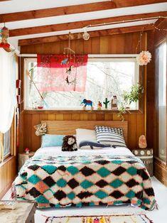 Poppy Lane, Scott Gibson + Family - The Design Files Pop And Scott, Creative Kids Rooms, Modern Interior, Interior Design, Boho Stil, Boho Bedding, The Design Files, Best Sofa, Dream Decor