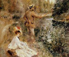 The Fisherman - Pierre-Auguste Renoir                                                                                                                                                                                 More