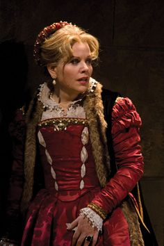 Renee Fleming as Desdemona in Otello.