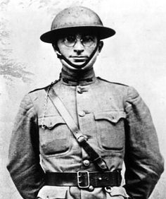 Harry Truman 1918 Soldier France.