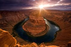 believe this is horseshoe bend near grand canyon? [photographybyvarina.com]