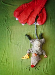 L'artiste californienne Sion Queenie Liao a mis en scène son mignon petit bébé Wengenn dans divers situations. Une initiative appelée 'Wengenn in Wonderland' sympathique à découvrir dans la suite en images.