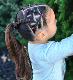 little-girl-hairstyles - Fab New Hairstyle 2 Cute Little Girl Hairstyles, Cute Girls Hairstyles, Princess Hairstyles, Baddie Hairstyles, Braided Hairstyles, Trendy Hairstyles, Teenage Hairstyles, Toddler Hairstyles, Hairstyles 2016