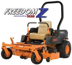 Scag Freedom Z  / A Great Buy At Lawn-Tamer Inc. We Have Been Serving Okeechobee For Over 35 Years Now. Get Your Scag At Lawn Tamer Inc. Okeechobee Florida, Call 863-763-5606