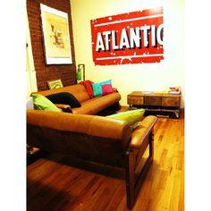 Vintage Brazilian Leather Rosewood Sofa in East Flatbush, Brooklyn ~ Krrb Classifieds