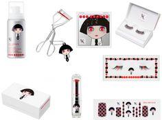 Maquillaje Shu Uemura, por Karl Lagerfeld