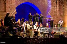 Jordi Savall performs at Bab Al Makina as part of the Fez Festival Of World Sacred Music on June 9, 2010 in Fez, Morocco.