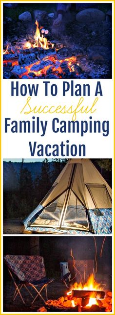 How To Plan A Successful Family Camping Vacation