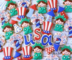 How To Make Decorated Firecracker Sugar Cookies for the 4th of July