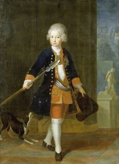 Frederick the great at the age of 11