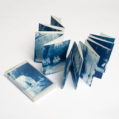 Handmade, cyanotype concertina book and cassette by Rita Revell and Isabella Capezio. This release is made to order, each print being unique with imperfections from the printing process. Comes with a jewel case cassette and handmade o-card casing. happyend.in