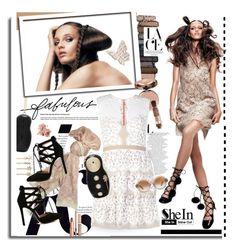 """Style with Shein.com"" by hamaly ❤ liked on Polyvore featuring mode, KAROLINA, Valentino, Urban Decay, Tasha, Charlotte Tilbury, Bobbi Brown Cosmetics, Lancôme, lace et Sheinside"