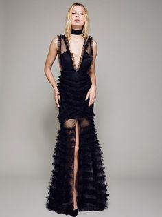 All Black Everything Gown from Free People!