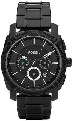 Fossil Machine Black Chronograph Watch