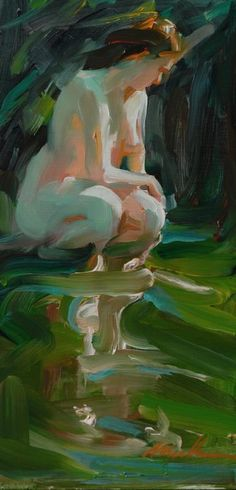 Expressionist Paintings of Women by Michelle Torrez available Saks Galleries