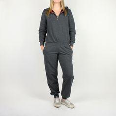 La Ninna Nanna Moochsuit – Charcoal from Lazy Day Lounge Wear - Me want!