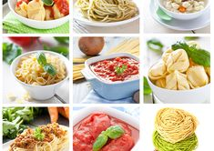 Six healthy pasta sauce recipes for different kinds of pasta and sauces. Hungry yet?