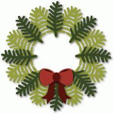 View Design #36508: evergreen wreath
