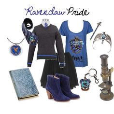 Ravenclaw Pride, created by nearlysamantha on Polyvore