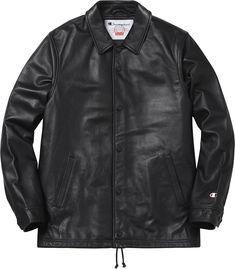 Supreme - straight stick up jacket.