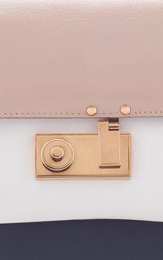 AGNONA Mini Cygnette Satchel $1,990  (Alpaca, Florence Plonge' and Suede)