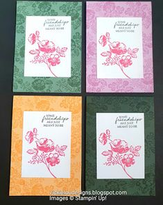 Color Contour, Dandelion Wish, Wink Of Stella, Types Of Craft, Flower Images, Handmade Items, Handmade Gifts, Stamping Up, Pansies